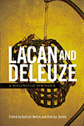Joe Burleigh's art appears on the cover of Lacan and Delezue