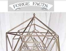 Forge Facts cover with Joe Burleigh's artwork