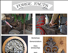 2014 Forge Facts cover with Joe Burleigh's artwork